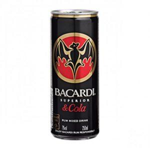 Bacardi & Cola 250 Ml